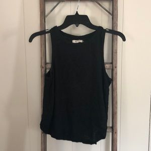 BLACK MADEWELL MUSCLE TANK SIZE XS